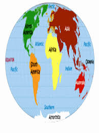 Map Of The 7 Continents Qureshi University Advanced Courses Via Cutting Edge Technology