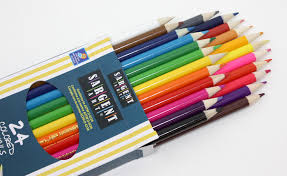amazon com sargent art 22 7224 24 count assorted colored pencils