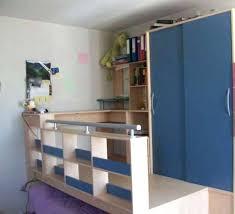 lit mezzanine combiné bureau lit bureau armoire combine vends combinac lit armoire bureau a