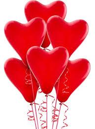 heart balloons heart balloons 6ct party city