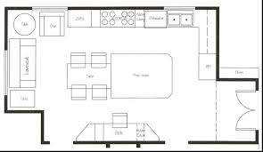 large kitchen floor plans restaurant kitchen floor plans kitchen island blueprints kitchen
