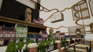 riding the adorable wooden rails of tracks the train set game