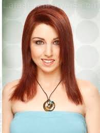 how to cut hair straight across in back straight across back long red style back view hair ideas