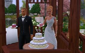 Wedding Cake In The Sims 4 Mod The Sims The Wedding Park A Community Lot