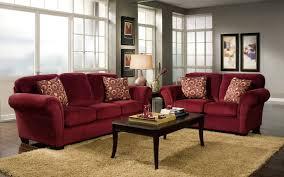 dark red sofa natural home design