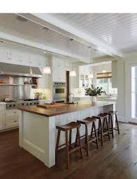 kitchen with butcher block island i would a butcher block island maybe with some open shelving