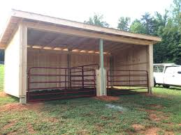 horse shelter plans simple build portable work shed inside run in