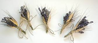 boutonnieres and corsages custom lavender or wheat boutonnieres or corsages