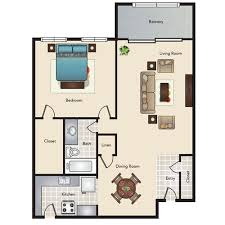 Kitchen And Living Room Open Floor Plans Floor Plans With 1 2 Or 3 Bedrooms Heritage Apartment Homes