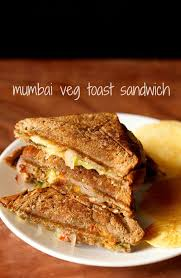 How To Make Toast In Toaster Oven Veg Toast Sandwich Recipe How To Make Bombay Vegetable Toast Sandwich