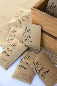 seed packets wedding favors sunflower seeds for wedding favors coastal seaport wedding seed