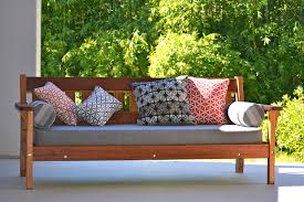 Outdoor Daybed Mattress Recycled Timber Outdoor Daybeds Australian Recycled Hardwood