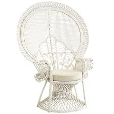 furniture peacock chair wicker armchair ratan chairs