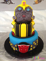 transformers bumblebee and optimus party cake topper 20 transformers birthday party ideas we transformers