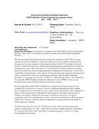 sample cover letter for instructional designer image collections