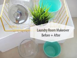 Decorating A Laundry Room On A Budget by Laundry Room Makeover On A Budget Before After Youtube