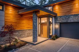Home House Design Vancouver Gorgeous Ledge Stone House Designs Contemporary Entry Vancouver