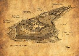 Thousand Islands Map Submerged Fortress Of Doom An Island Fort Under The St Lawrence