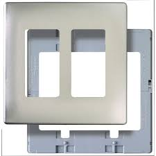 metallic switch plates wall plates the home depot