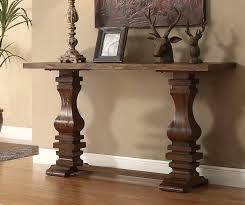 Oak Sofa Table Homelegance Marie Louise Sofa Table Rustic Oak Brown 2526 05