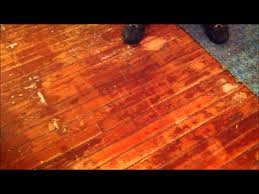 refinishing wood floors part 1