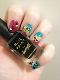 game inspired u2013 beat sneak bandit nail art thoughts in little boxes