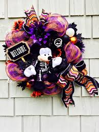 mickey mouse wreath halloween disney wreath mickey mouse