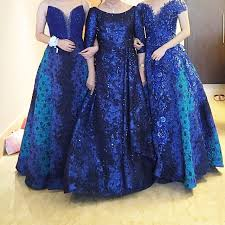 dress pesta blue dress pesta rental gaun wedding preloved fesyen wanita