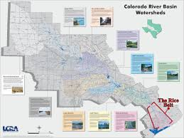 Map Of Colorado River by During Drought Once Mighty Texas Rice Belt Fades Away