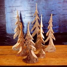 rustic carved tree from nc mountains small rustic wood