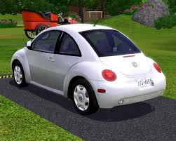 pink volkswagen beetle with eyelashes fresh prince creations sims 3 2003 volkswagen new beetle