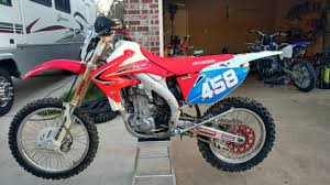 2012 honda crf450x motorcycles for sale