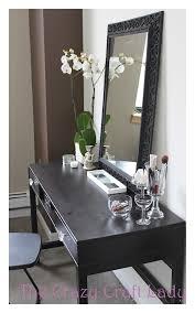 Ikea Bedroom Vanity Ikea Desk Vanity How To Turn An Inexpensive Desk Into A Vanity