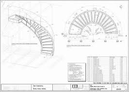 Circular Stairs Design Curved Stair Plans Unique 3 Curved Staircase Plans Thestyleposts Com