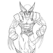 coloring wolverine kids drawing coloring pages marisa