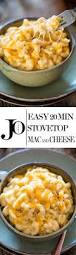 easy stovetop mac and cheese jo cooks