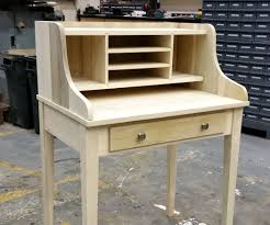 Student Desk Woodworking Plans by Poplar Secretary Desk 9 Steps With Pictures