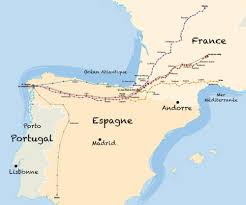 Lourdes France Map by Map Chemins De France Chemins De France