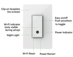 how to reset wemo light switch belkin f7c030fc wemo light switch newegg com