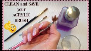 acrylic nail brush how to revive and clean your hard acrylic