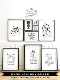 decorating ideas for bathroom walls wall decor epicfy co