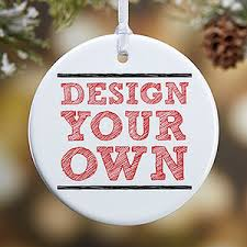 design your own custom ornaments