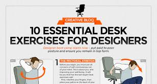 exercises to do at your desk 10 simple exercises for designers and desk workers to stay fit