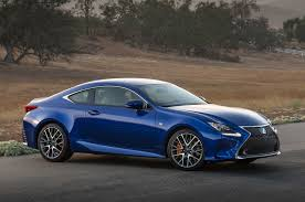 sporty lexus blue 2016 lexus rc gains turbo four engine new v 6 variant