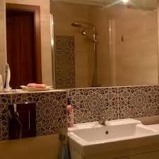 mediterrane badezimmer mediterrane badezimmer fliesen bunt terrasse on badezimmer mit