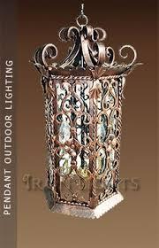 Pendant Outdoor Lighting Fixtures Wrought Iron Outdoor Lighting Architectural Lights Light Fixtures