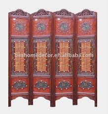Chinese Room Dividers by Chinese Style Antique Wooden Room Divider Folding Screen Wood Room
