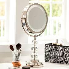 pottery barn teen lighting light it up beauty mirror pbteen