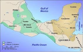mayan empire map the mayans and the blood thirsty aztecs