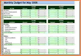 Spreadsheet Template For Budget 6 Template Budget Spreadsheet Excel Spreadsheets